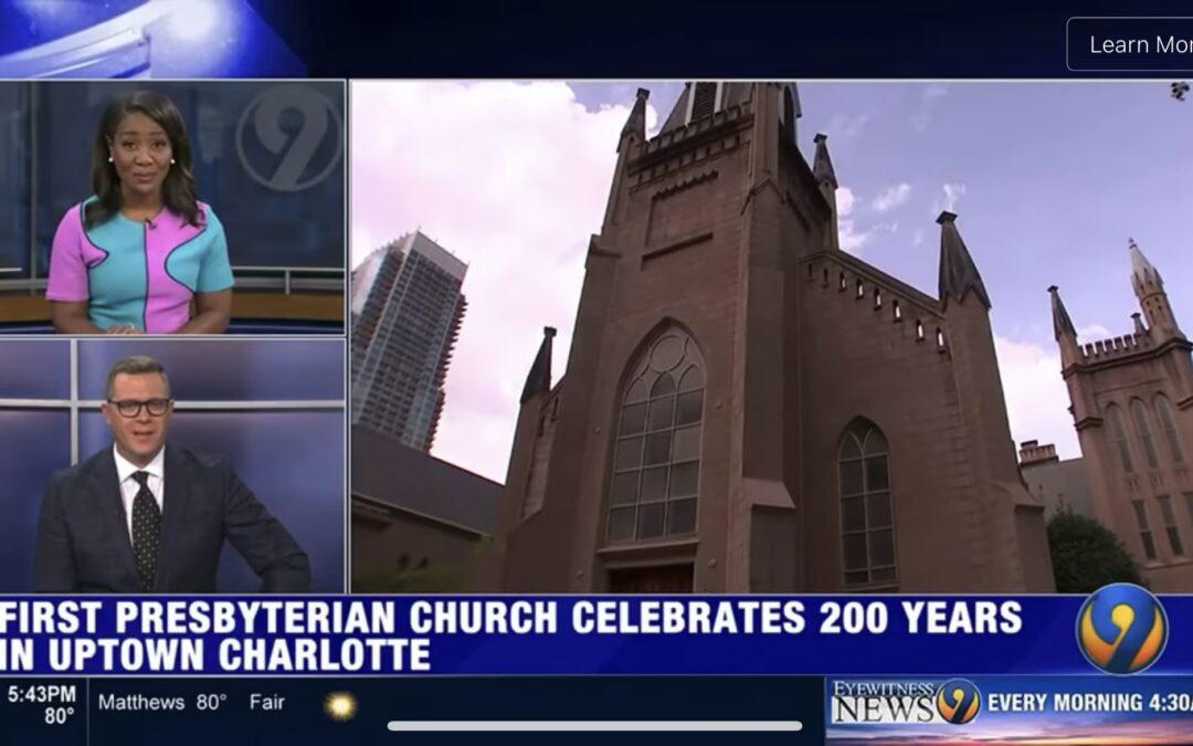 Featured on WSOC-TV: FPC + Bicentennial Year